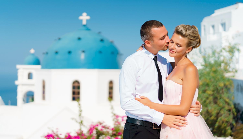 Инна и Сергей: свадьба на санторини, свадебное агентство Julia Veselova - Фото 2