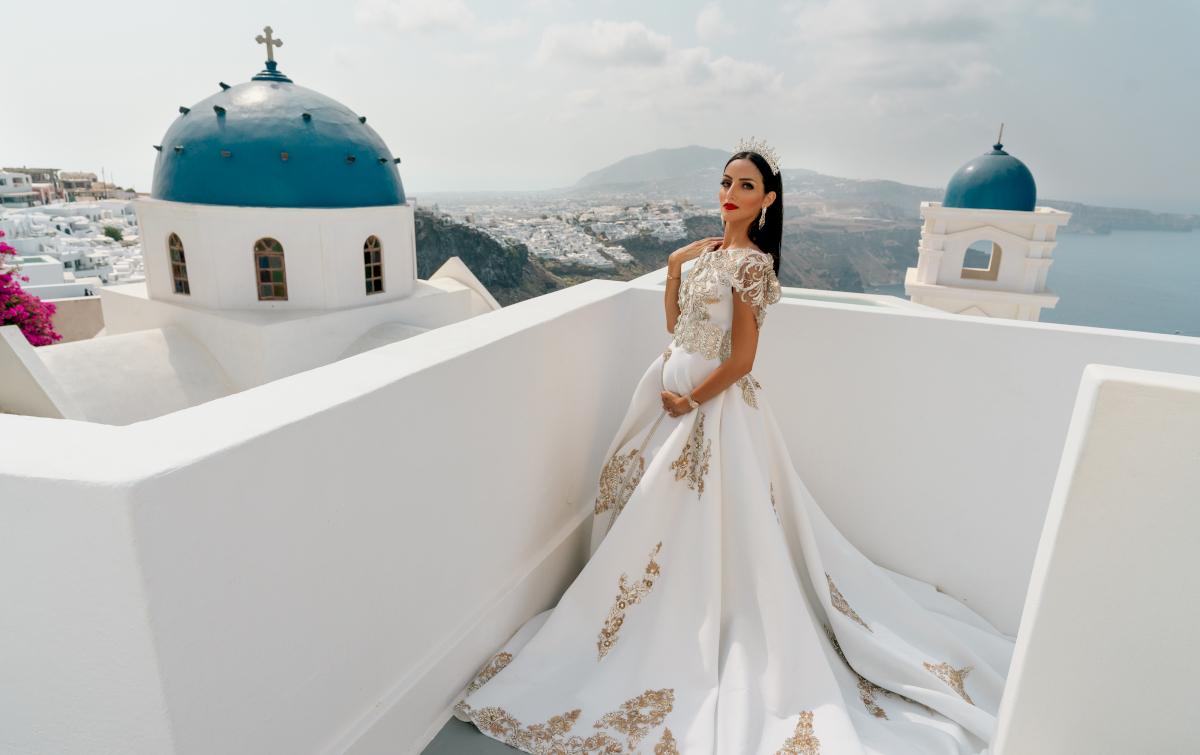 Жасмин: свадьба на санторини, свадебное агентство Julia Veselova - Фото 2