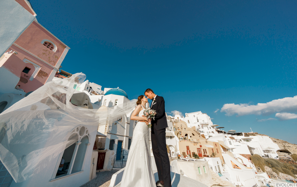 Виолетта и Александр: свадьба на санторини, свадебное агентство Julia Veselova - Фото 6