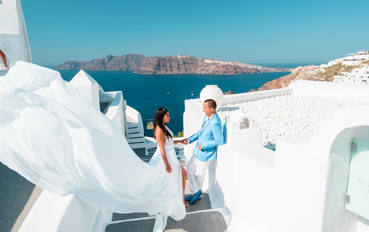 Иветта: свадьба на санторини, свадебное агентство Julia Veselova - Фото 2