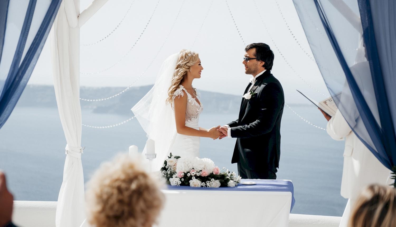Натали и Левон: свадьба на санторини, свадебное агентство Julia Veselova - Фото 11