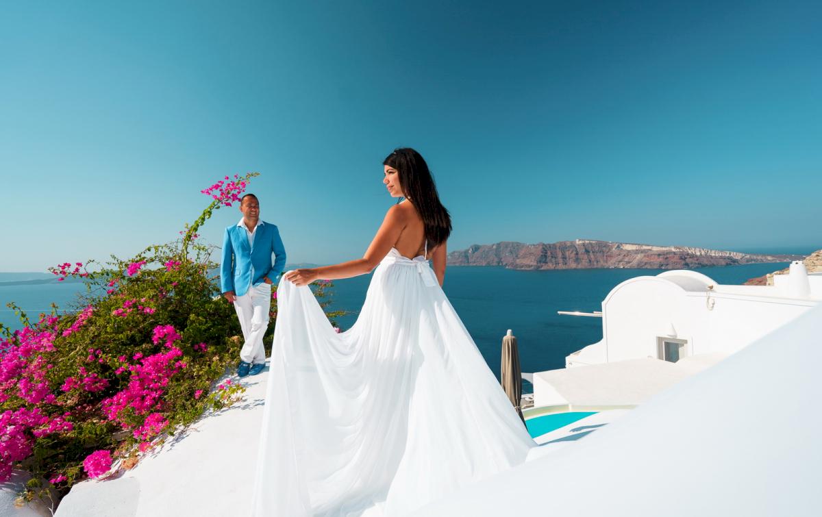 Иветта: свадьба на санторини, свадебное агентство Julia Veselova - Фото 8
