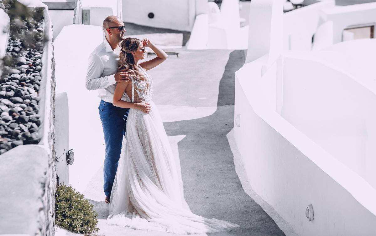 Екатерина и Артем: свадьба на санторини, свадебное агентство Julia Veselova - Фото 13