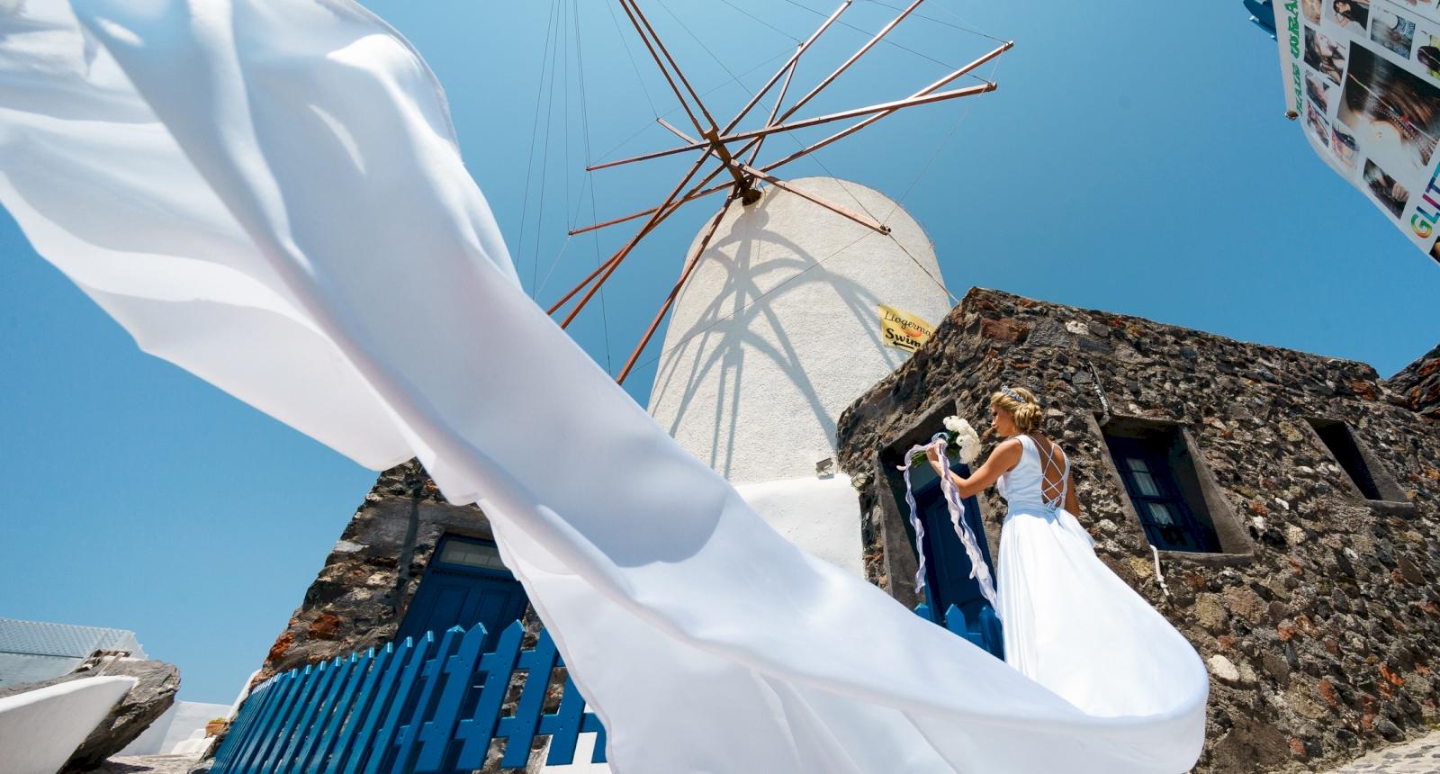 Елена и Олег: свадьба на санторини, свадебное агентство Julia Veselova - Фото 3