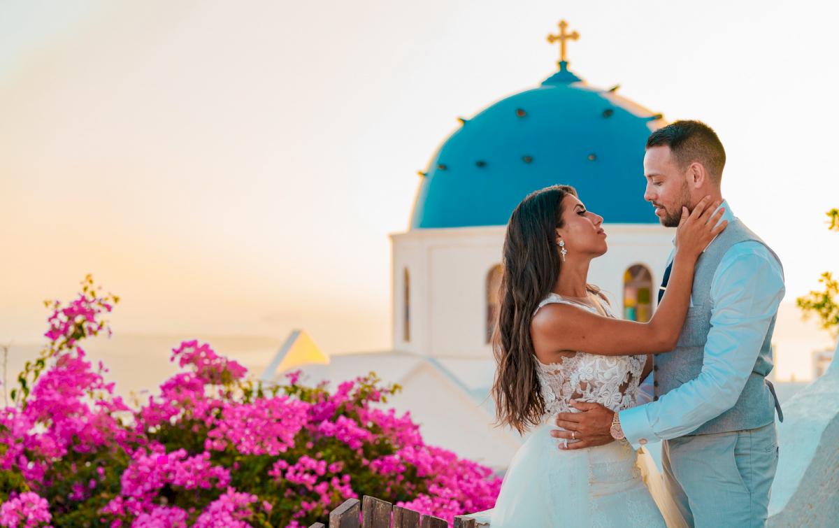 Яна и Рафаэль: свадьба на санторини, свадебное агентство Julia Veselova - Фото 5