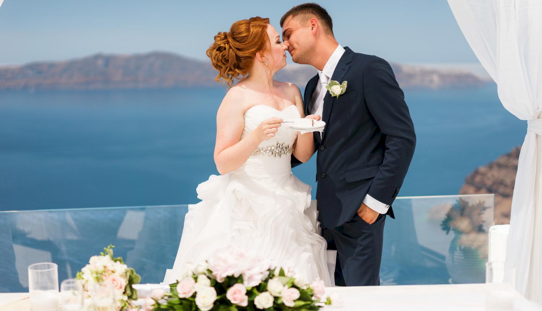 Наталья и Александр: свадьба на санторини, свадебное агентство Julia Veselova - Фото 9