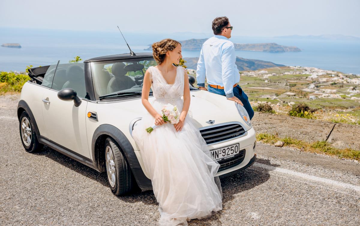 Анна и Андрей: свадьба на санторини, свадебное агентство Julia Veselova - Фото 10