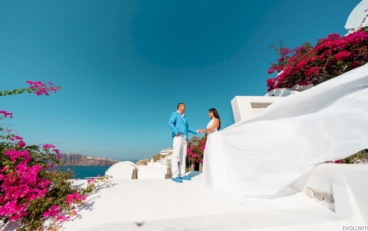 Иветта: свадьба на санторини, свадебное агентство Julia Veselova - Фото 6