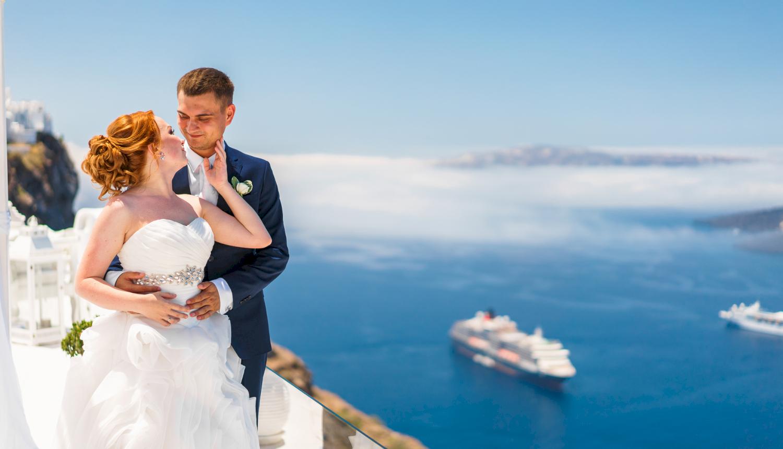 Наталья и Александр: свадьба на санторини, свадебное агентство Julia Veselova - Фото 11
