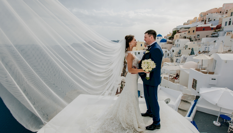 Юлия и Максим: свадьба на санторини, свадебное агентство Julia Veselova - Фото 10