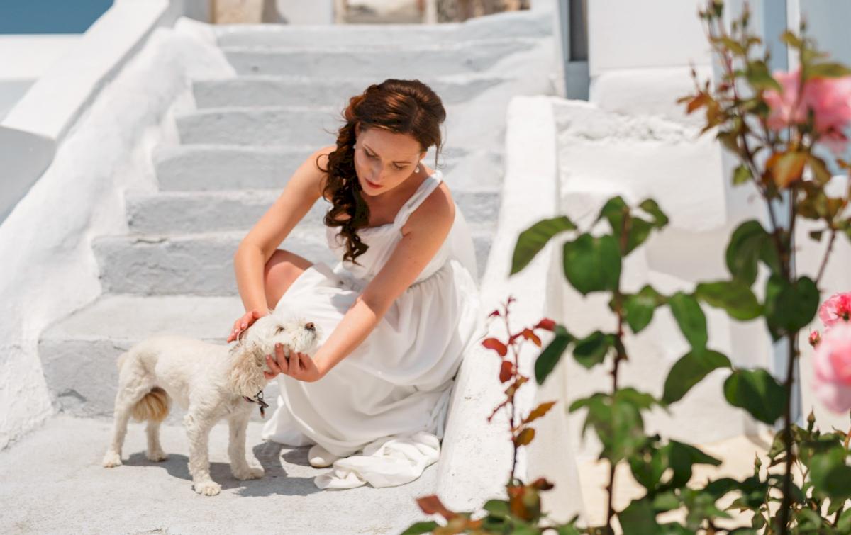 Ирина и Эдуард: свадьба на санторини, свадебное агентство Julia Veselova - Фото 11