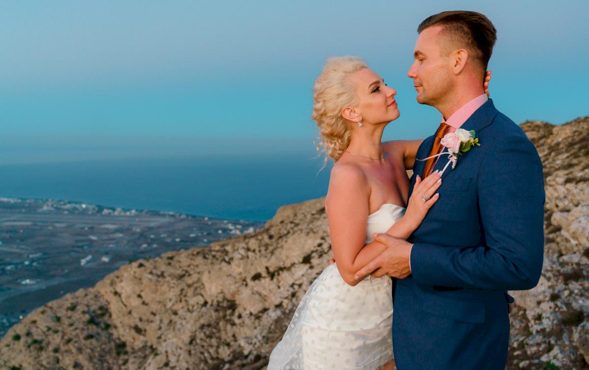 Екатерина и Андрей: свадьба на санторини, свадебное агентство Julia Veselova - Фото 10