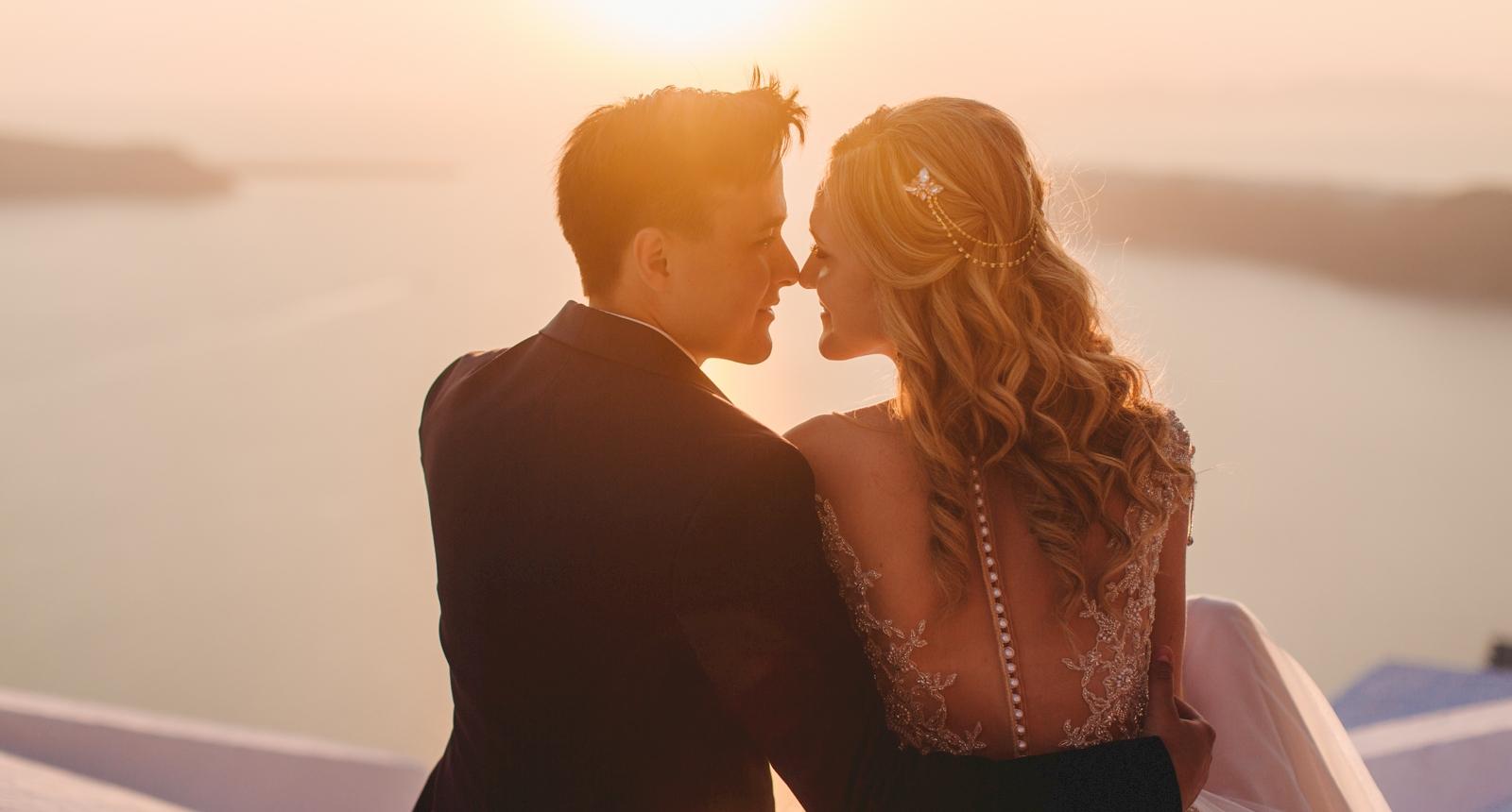 Анжелика и Роман: свадьба на санторини, свадебное агентство Julia Veselova - Фото 9