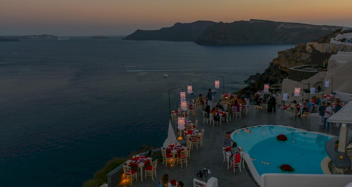 Рестораны: свадьба на санторини, свадебное агентство Julia Veselova - Фото 7