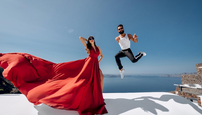 Joanna and James: свадьба на санторини, свадебное агентство Julia Veselova - Фото 5