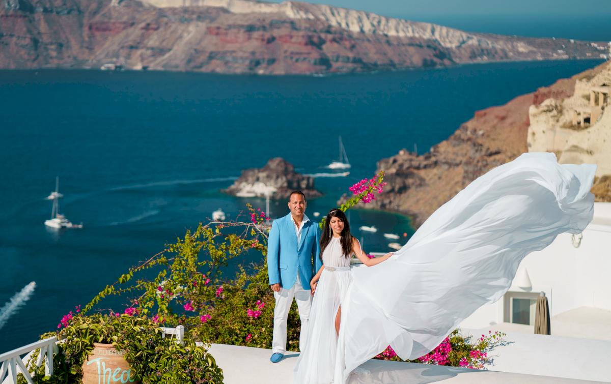 Иветта: свадьба на санторини, свадебное агентство Julia Veselova - Фото 1