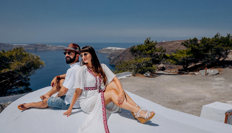 Joanna and James: свадьба на санторини, свадебное агентство Julia Veselova - Фото 10