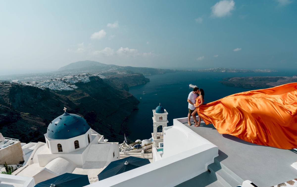 Жасмин и Эрик: свадьба на санторини, свадебное агентство Julia Veselova - Фото 5