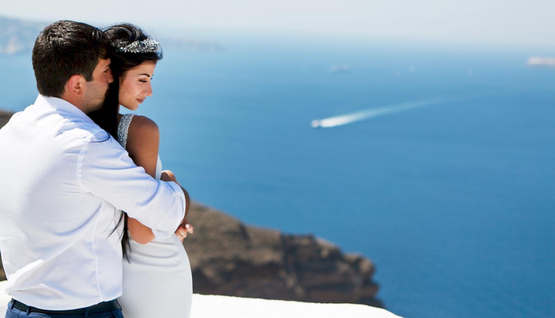 Зарина и Ованес: свадьба на санторини, свадебное агентство Julia Veselova - Фото 8