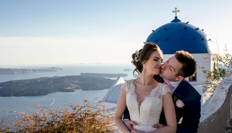 Наталья и Сергей: свадьба на санторини, свадебное агентство Julia Veselova - Фото 2