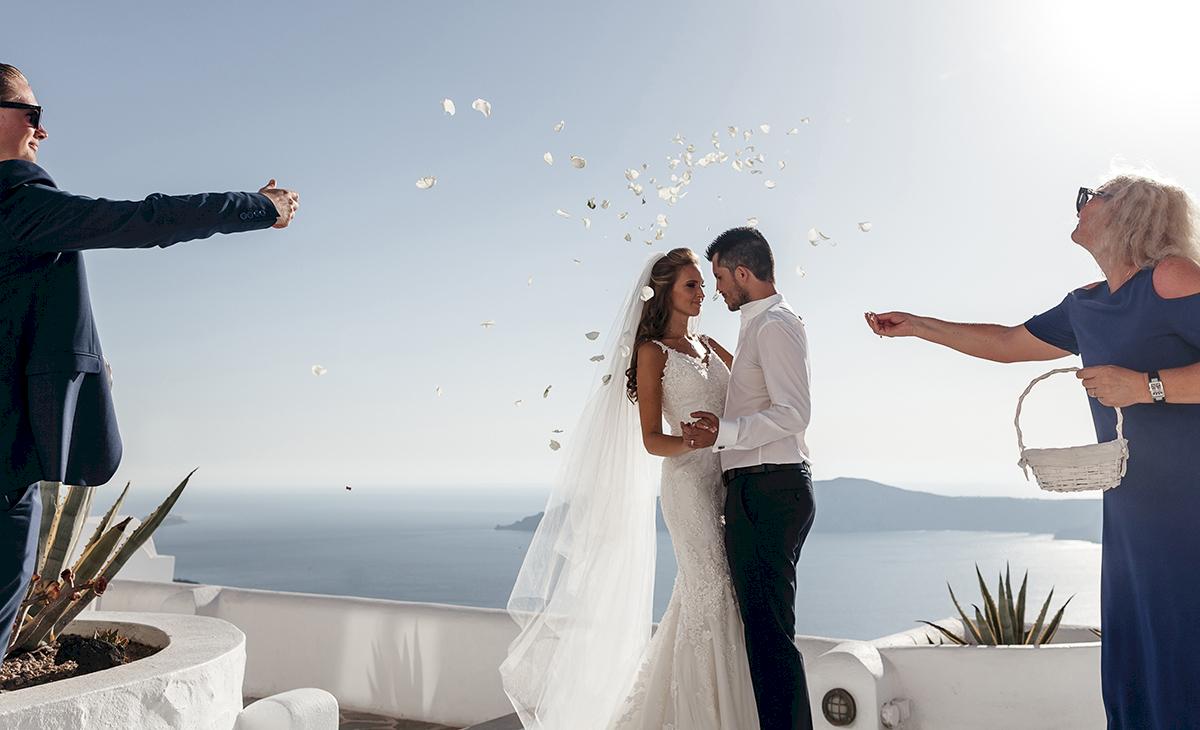 Жанна и Адриан: свадьба на санторини, свадебное агентство Julia Veselova - Фото 10