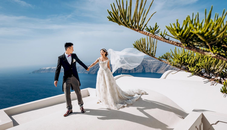 Sugar and Joe: свадьба на санторини, свадебное агентство Julia Veselova - Фото 5