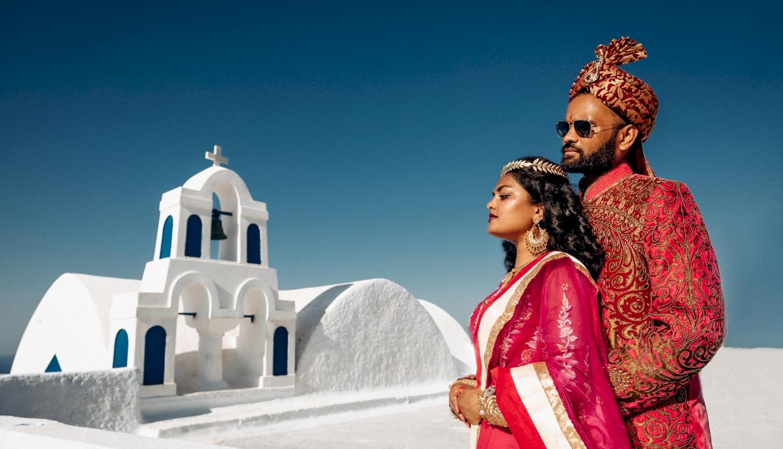 Deni and Kanshu: свадьба на санторини, свадебное агентство Julia Veselova - Фото 6