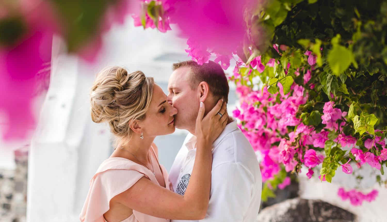 Darya & Jason: свадьба на санторини, свадебное агентство Julia Veselova - Фото 11