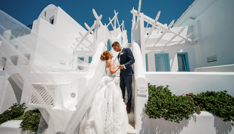 Наталья и Александр: свадьба на санторини, свадебное агентство Julia Veselova - Фото 16