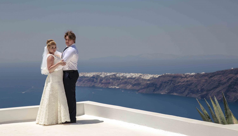 Дарья и Яков: свадьба на санторини, свадебное агентство Julia Veselova - Фото 3