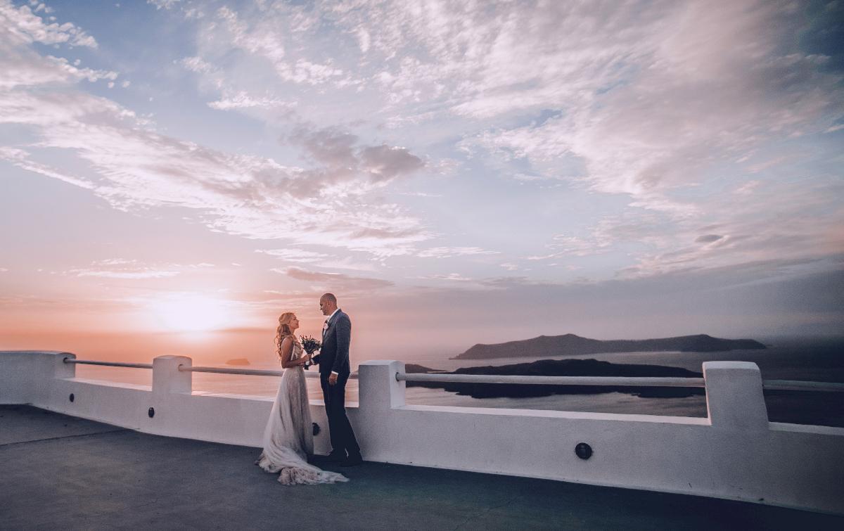 Екатерина и Артем: свадьба на санторини, свадебное агентство Julia Veselova - Фото 18