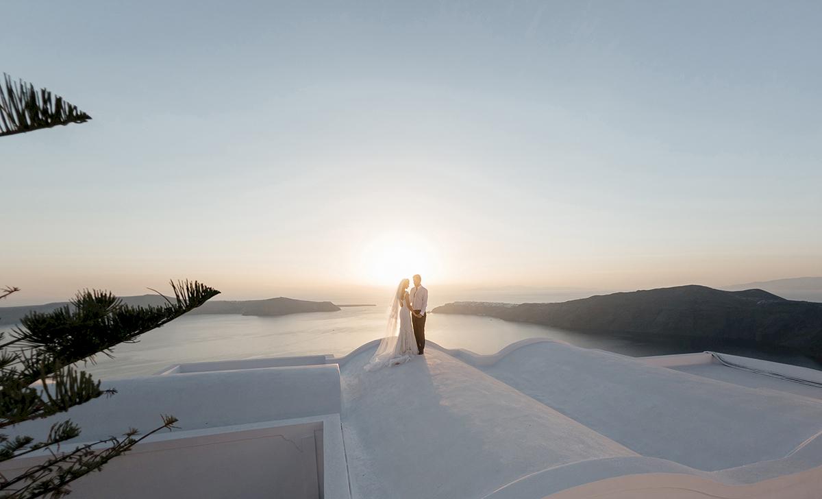 Жанна и Адриан: свадьба на санторини, свадебное агентство Julia Veselova - Фото 13