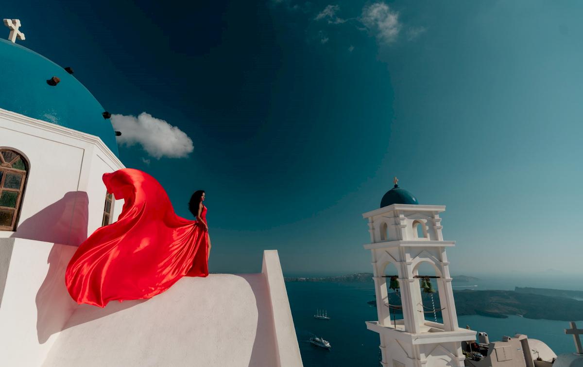 Линда: свадьба на санторини, свадебное агентство Julia Veselova - Фото 3