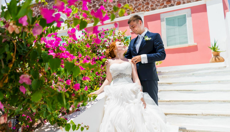 Наталья и Александр: свадьба на санторини, свадебное агентство Julia Veselova - Фото 17