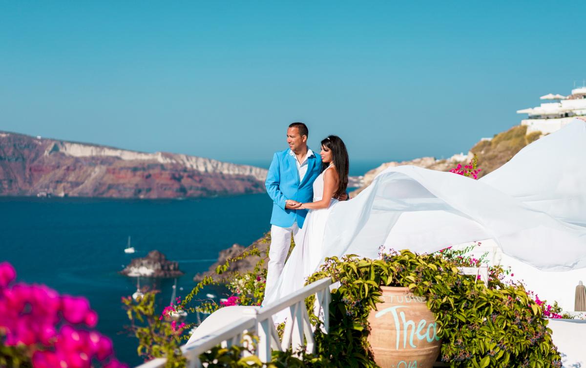 Иветта: свадьба на санторини, свадебное агентство Julia Veselova - Фото 16