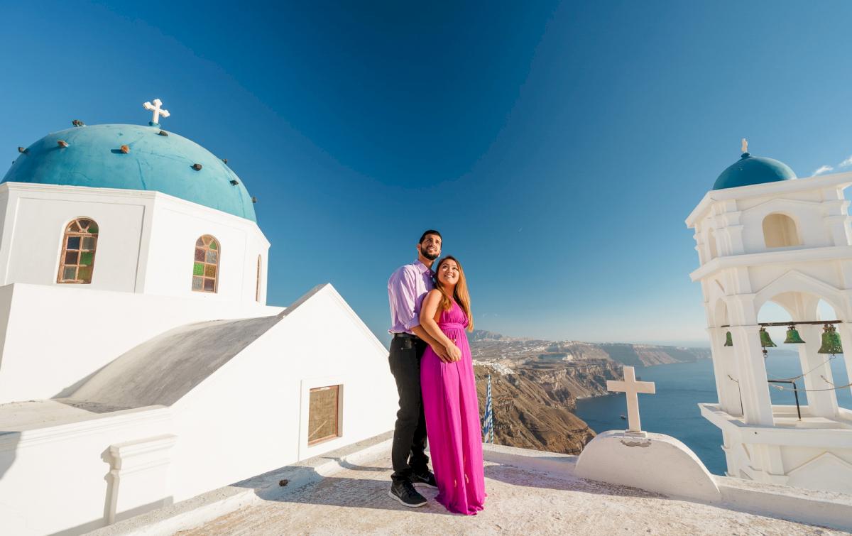 Levy Shady: свадьба на санторини, свадебное агентство Julia Veselova - Фото 1