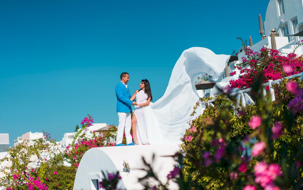 Иветта: свадьба на санторини, свадебное агентство Julia Veselova - Фото 18