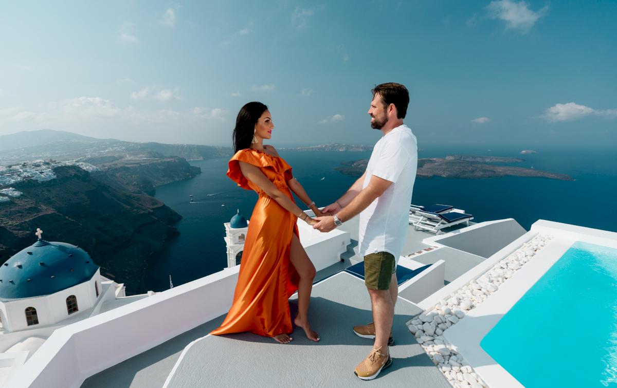 Жасмин и Эрик: свадьба на санторини, свадебное агентство Julia Veselova - Фото 7
