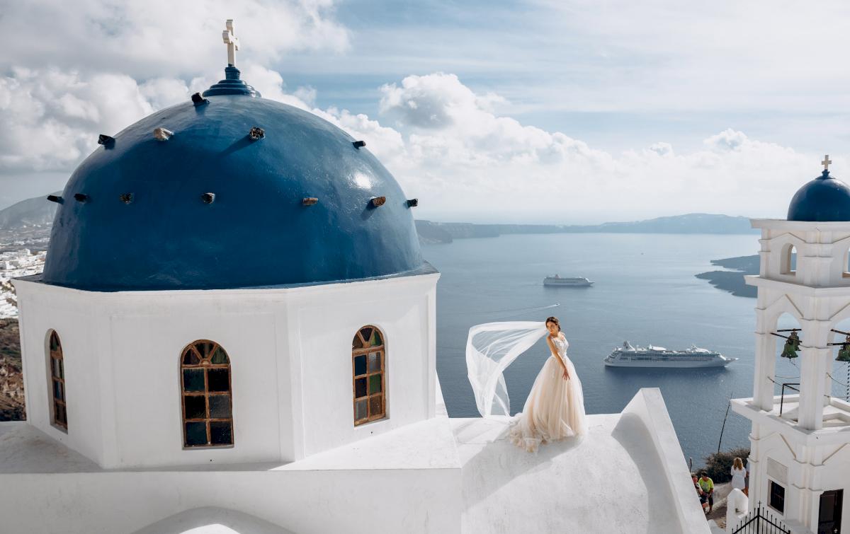 Юлия и Ярослав: свадьба на санторини, свадебное агентство Julia Veselova - Фото 11