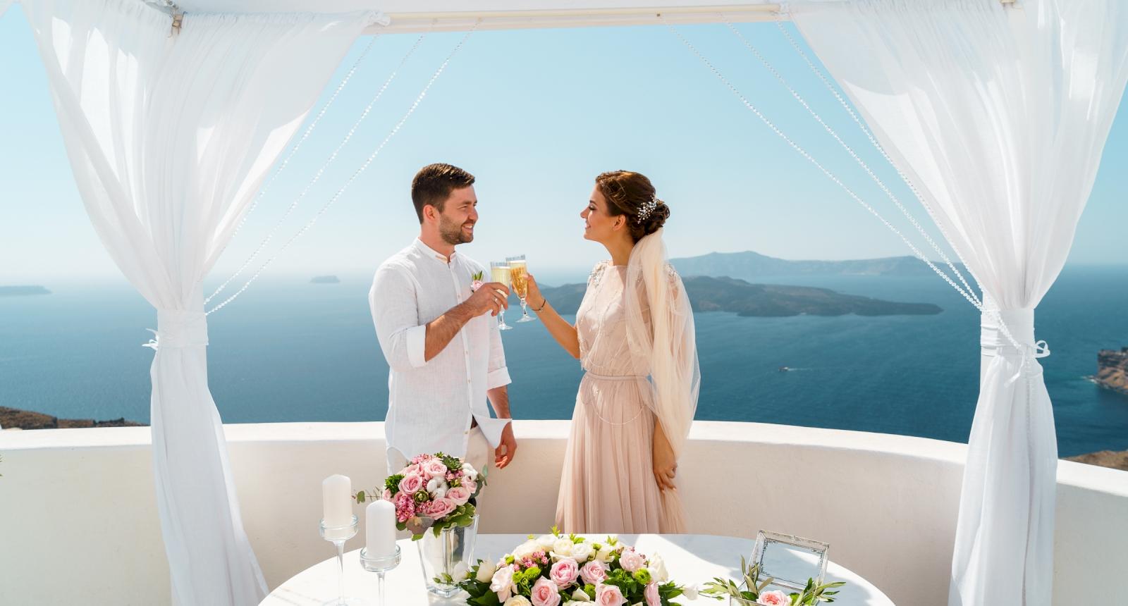 Елизавета и Павел: свадьба на санторини, свадебное агентство Julia Veselova - Фото 5