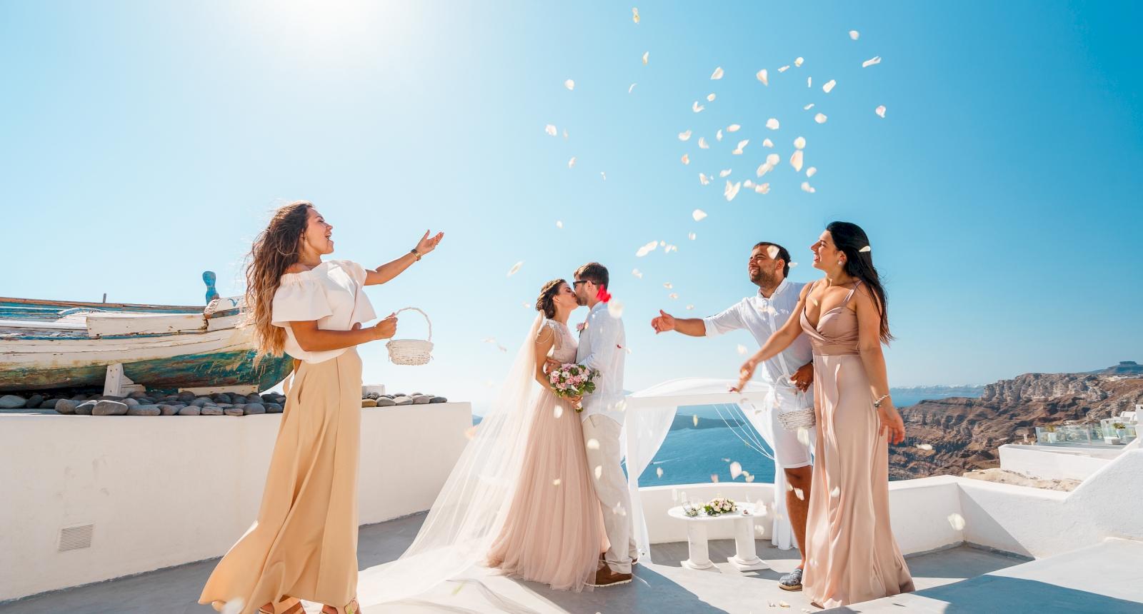 Елизавета и Павел: свадьба на санторини, свадебное агентство Julia Veselova - Фото 7