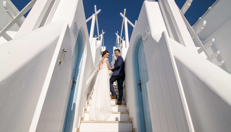 Наталья и Сергей: свадьба на санторини, свадебное агентство Julia Veselova - Фото 6