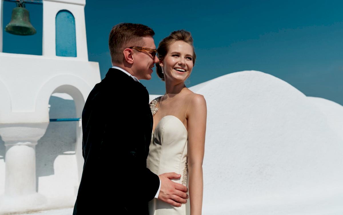 Любовь и Антон: свадьба на санторини, свадебное агентство Julia Veselova - Фото 11