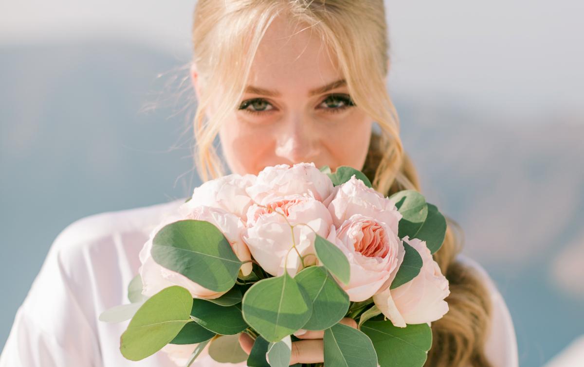 Алина и Cалех: свадьба на санторини, свадебное агентство Julia Veselova - Фото 5