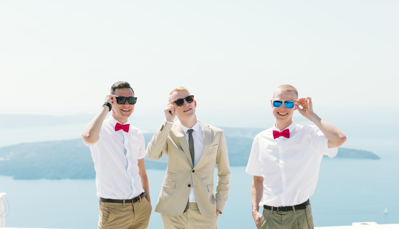 Алеся и Максим: свадьба на санторини, свадебное агентство Julia Veselova - Фото 2