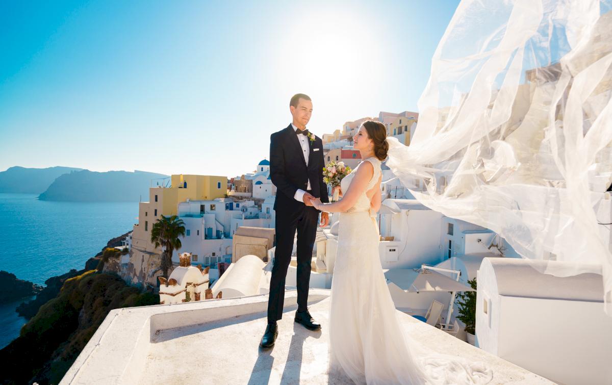 Виолетта и Александр: свадьба на санторини, свадебное агентство Julia Veselova - Фото 3