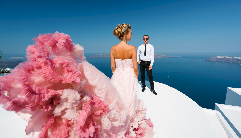 Инна и Сергей: свадьба на санторини, свадебное агентство Julia Veselova - Фото 12