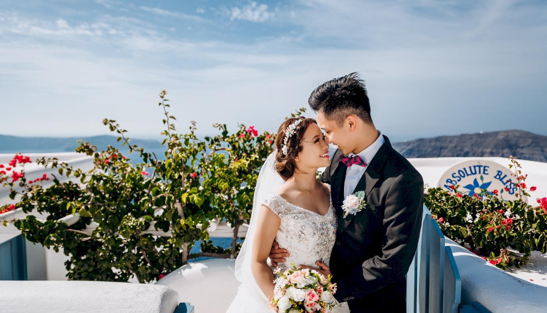 Sugar and Joe: свадьба на санторини, свадебное агентство Julia Veselova - Фото 6