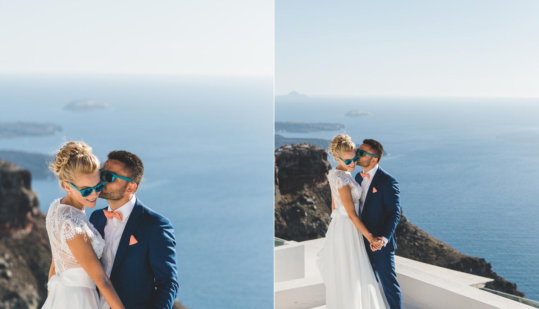 Ольга и Алексей: свадьба на санторини, свадебное агентство Julia Veselova - Фото 3