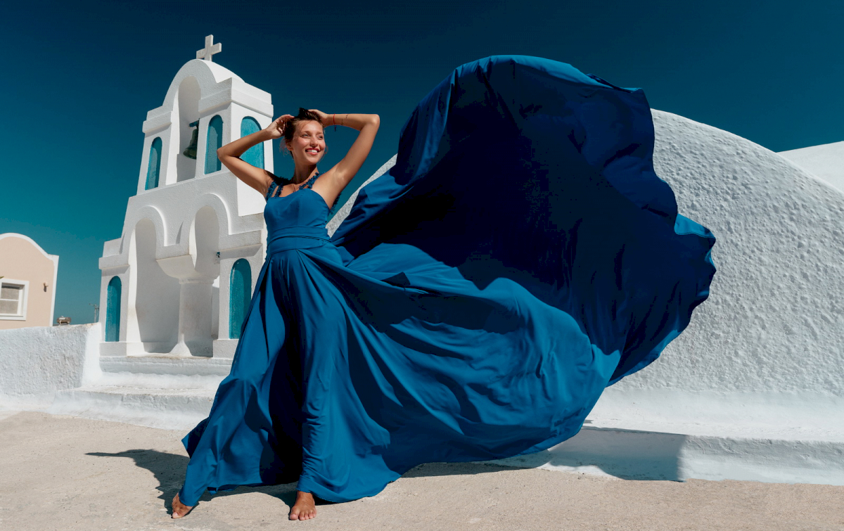 Регина Тодоренко: свадьба на санторини, свадебное агентство Julia Veselova - Фото 6